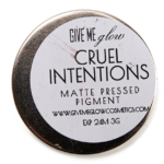 Give Me Glow Cruel Intentions Matte Pressed Shadow