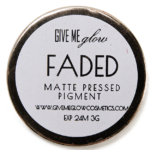 Give Me Glow Faded Matte Pressed Shadow
