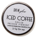 Give Me Glow Iced Coffee Foiled Pressed Shadow