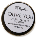 Give Me Glow Olive You Matte Pressed Shadow