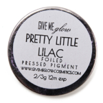 Give Me Glow Pretty Little Lilac Foiled Pressed Shadow