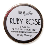 Give Me Glow Ruby Rose Foiled Pressed Shadow