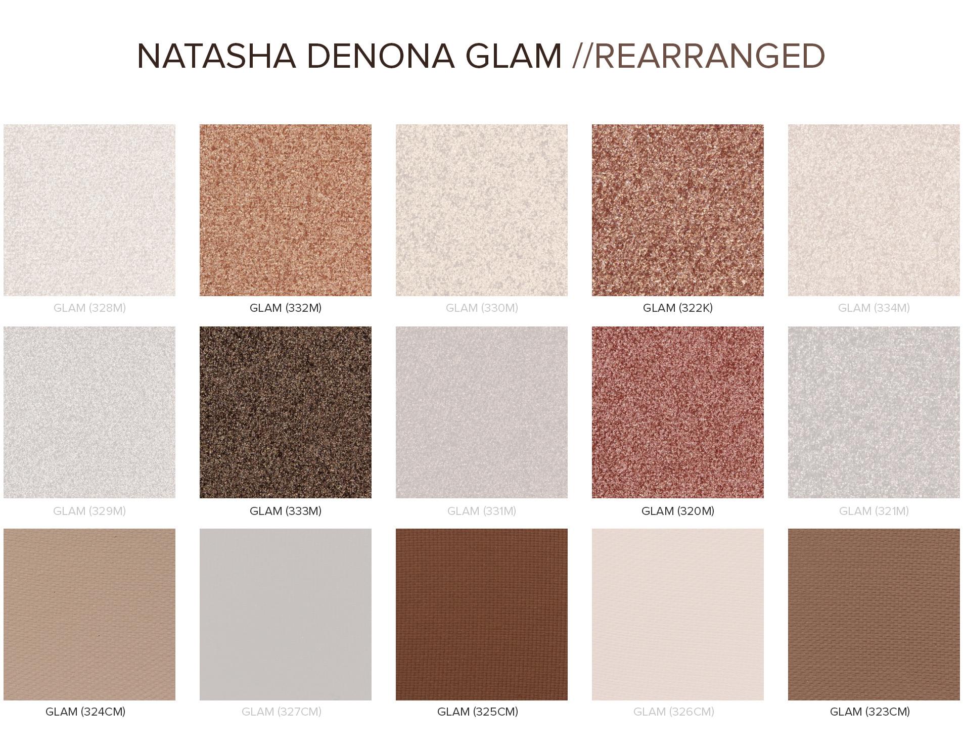 Natasha Denona Glam - Rearranged