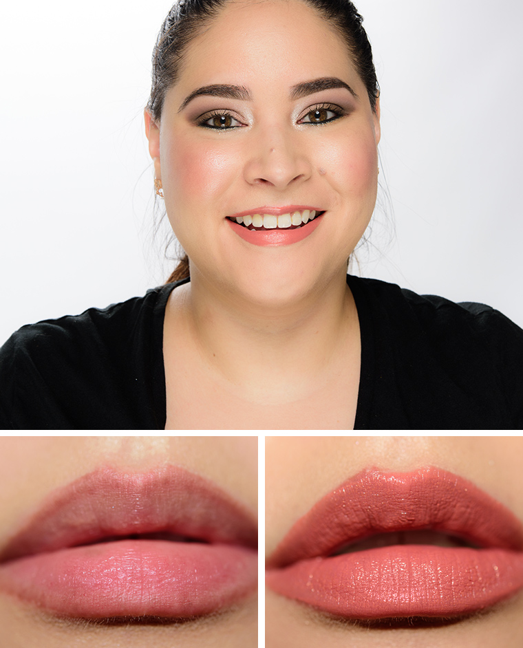 Chanel Or Beige & Or Cuivre Rouge Allure Lip Colours Reviews & Swatches