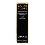 Chanel Or Cuivre (117) Rouge Allure Luminous Intense Lip Colour