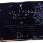 Dior Black Night (089) 5 Couleurs Couture Eyeshadow Palette