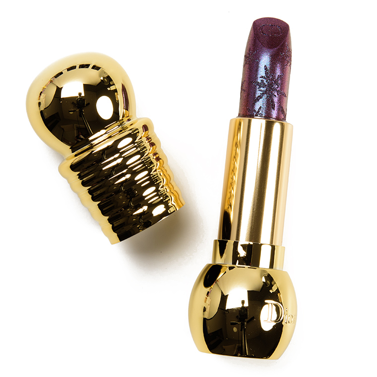 Dior Dazzling Beige & Dark Sparkle Diorific Lipsticks Reviews & Swatches
