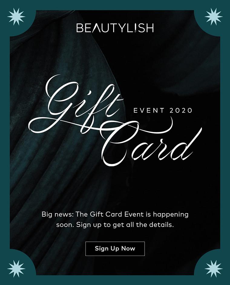 Sponsored: Beautylish's Annual Gift Card Event Returns!