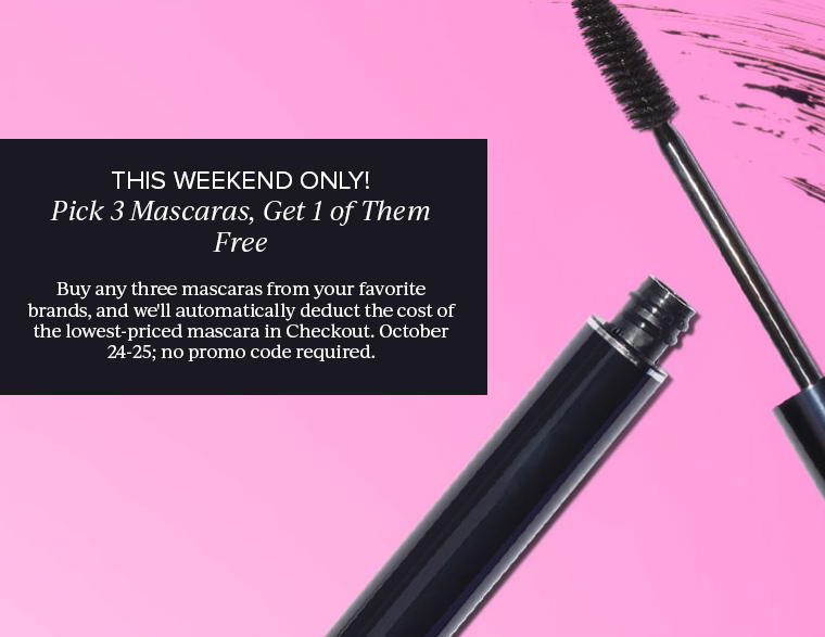 Nordstrom Mascara Madness: Buy 2, Get 3rd Free on Mascaras