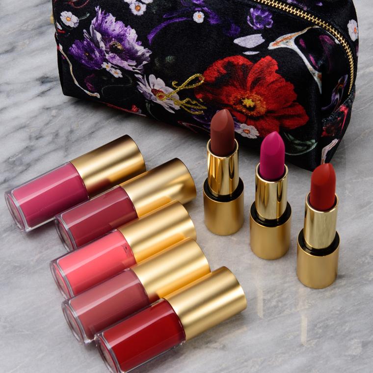 Lisa Eldridge Holiday 2020: Lipstick & Lipgloss Swatches (x8)