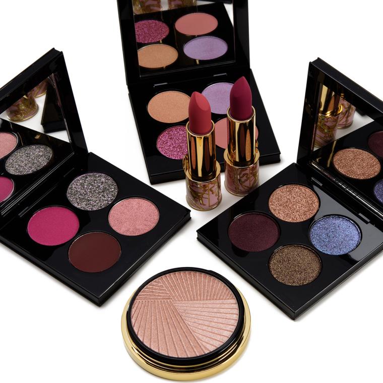 Sneak Peek: Pat McGrath Celestial Divinity Quads + Holiday 2020 MatteTrance Lipsticks, & Highlighter Swatches