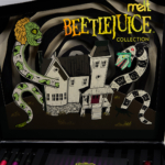 Melt Cosmetics x Beetlejuice Collection Swatches