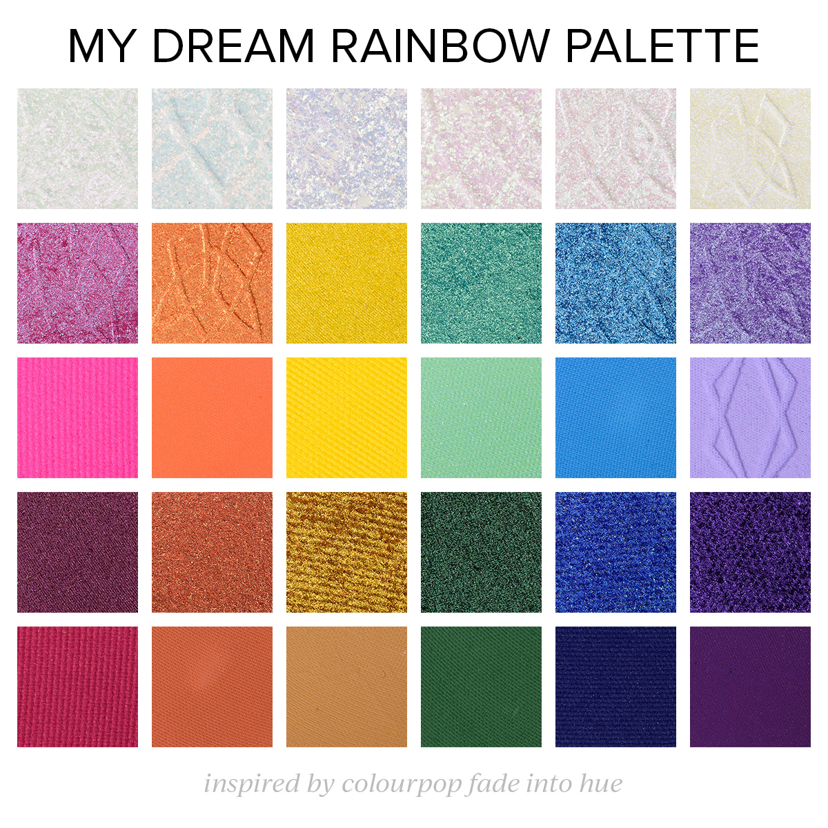 A Rainbow-Inspired Palette to Dream About