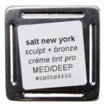 Salt New York Medium/Deep Sculpt and Bronze Crème Tint