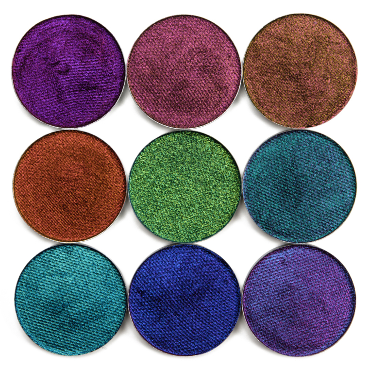 Terra Moons Extreme Multichromes, Cosmic Chameleons, El Barrio Swatches