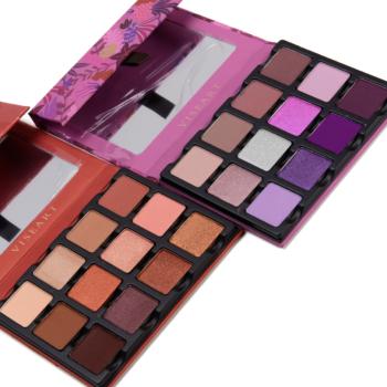 Viseart Etendu Palette Swatches: Minxette & Violette