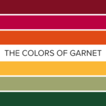 The Colors of Garnet: 15 Eyeshadow Color Combos for January