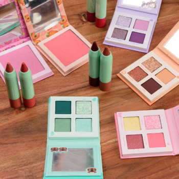 ColourPop x Animal Crossing Collection Swatches