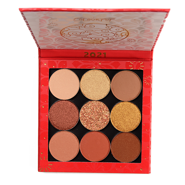 ColourPop Get That Coin 9-Pan Curated Shadow Palette