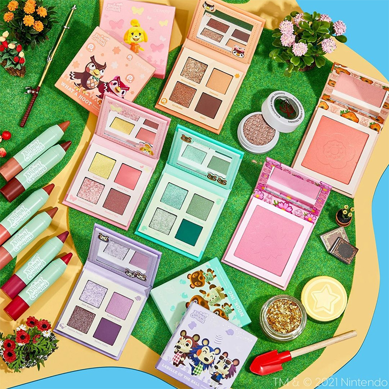 ColourPop x Animal Crossing Collection Launch Date