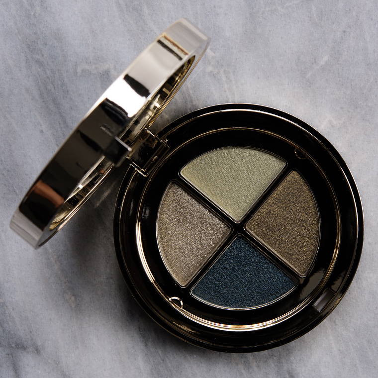 Clarins Jade Eyeshadow Quad Review & Swatches