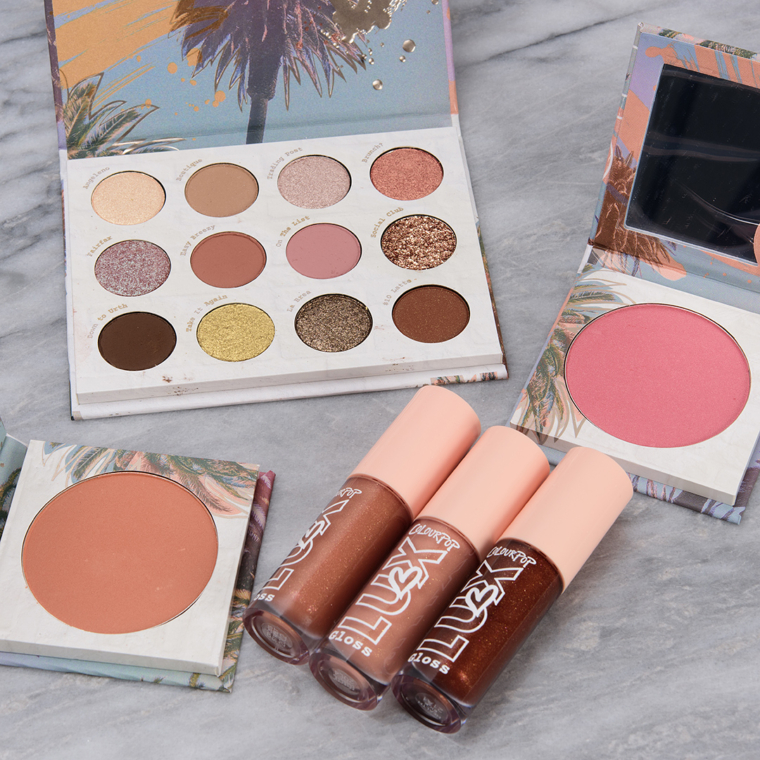 ColourPop Off Melrose Collection Swatches