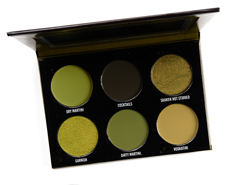 Give Me Glow Juicy Olive Eyeshadow Palette Review & Swatches
