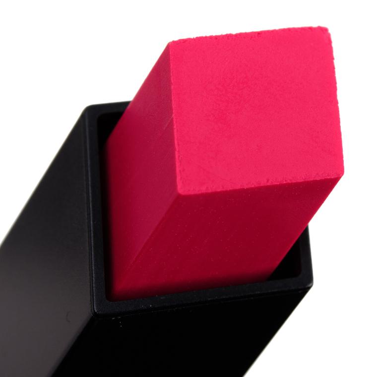 YSL Contrary Fuchsia & Red Enigma Slim Matte Lipsticks Reviews & Swatches