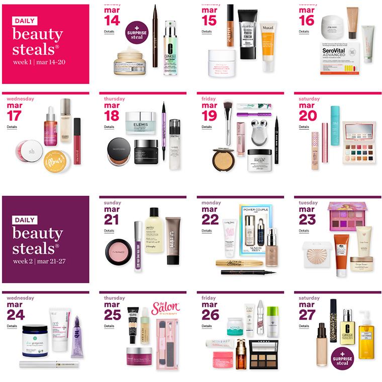 Ulta's 21 Days of Beauty 2021: March 14th thru April 3rd