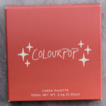 ColourPop Tea Cakes 4-Pan Cheek Palette