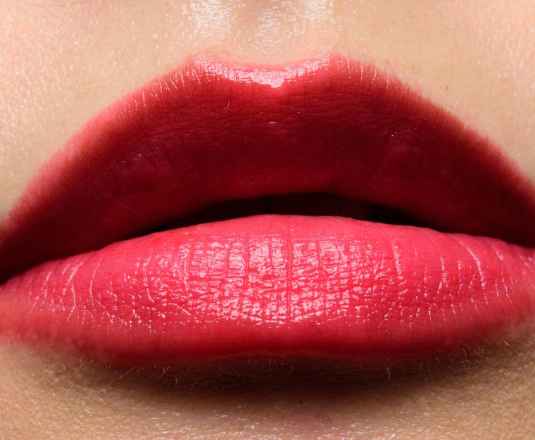 Guerlain Petal Red (709) KissKiss Shine Bloom Lipstick