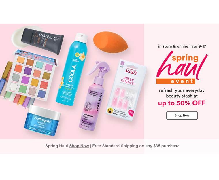Ulta Spring Haul Event (April 2021): Up to 50% Off!