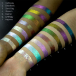 Lethal Cosmetics Glitch Liquid Eyeshadows + Magnetic Pressed Highlighters Now Available