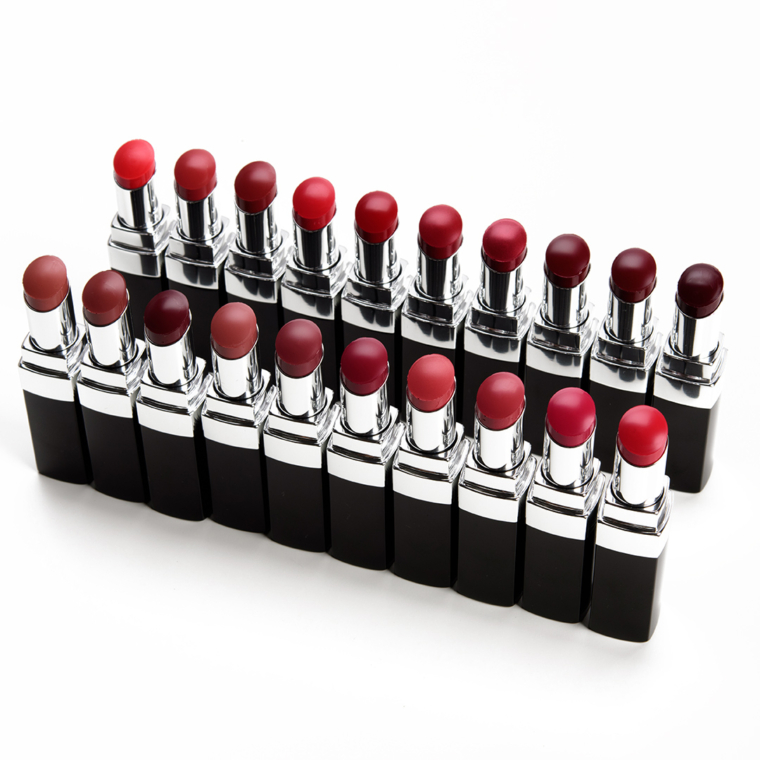Chanel Rouge Coco Bloom Lip Colour Swatches