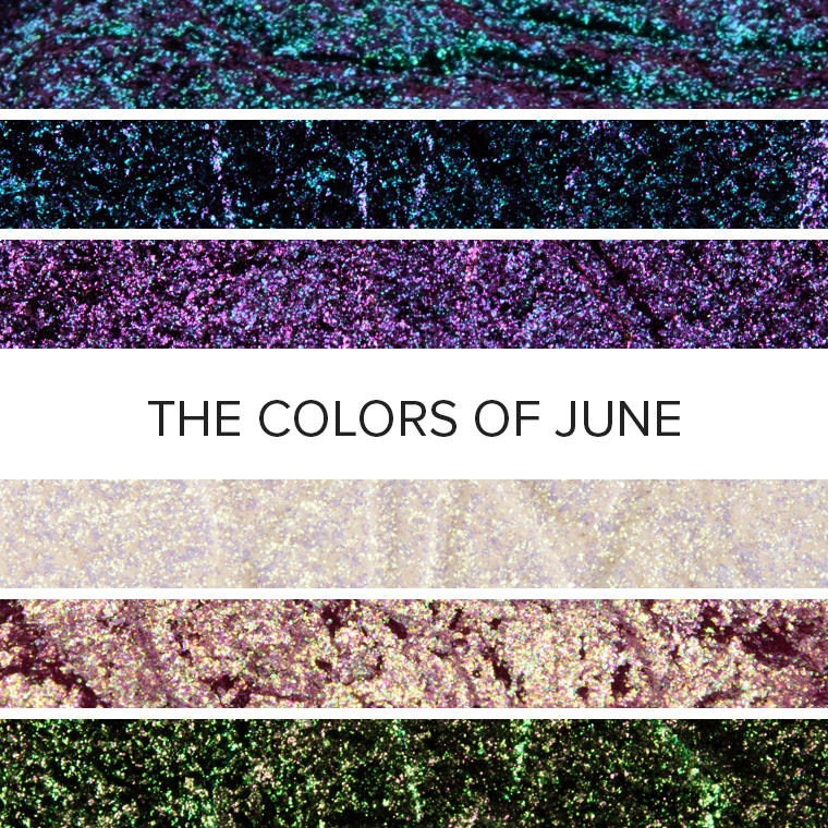 The Colors of Chameleons: 20 Eyeshadow Color Combos for June