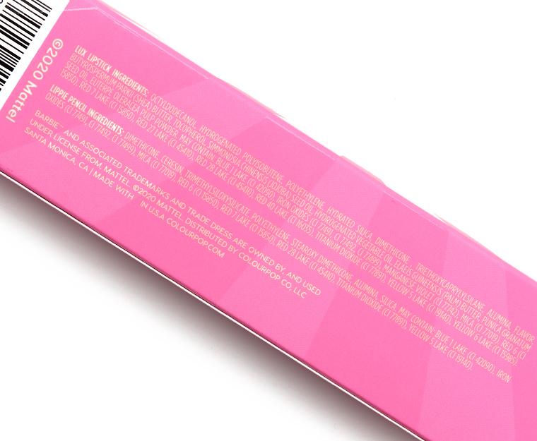 ColourPop x Barbie Malibu Sunset Lip Duo Review & Swatches