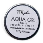 Give Me Glow Aqua Girl Foiled Pressed Shadow