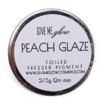 Give Me Glow Peach Glaze Foiled Pressed Shadow