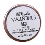 Give Me Glow Valentine\'s Red Foiled Pressed Pigment
