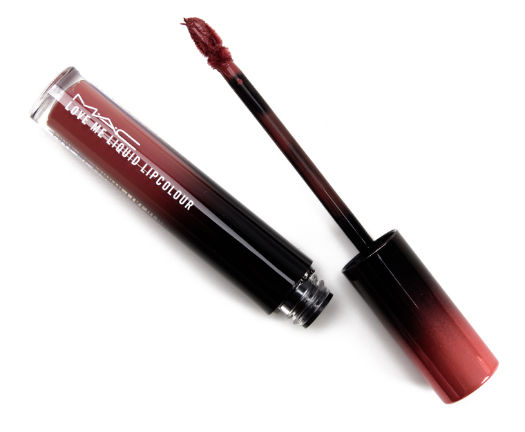 MAC Coffee and Cigs & Bated Breath Love Me Liquid Lipcolours Reviews & Swatches