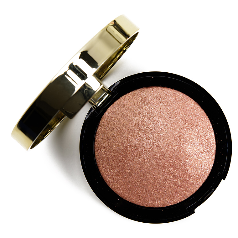 Milani Rosa Italiana Baked Highlighter Review & Swatches