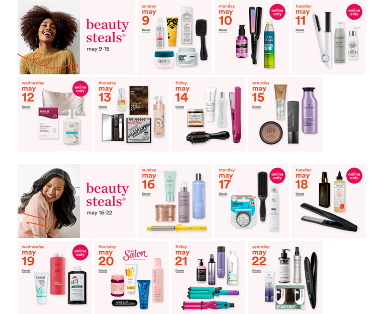 ULTA's Gorgeous Hair Event: 50% Off Hair Products! (May 9th - May 29th, 2021)