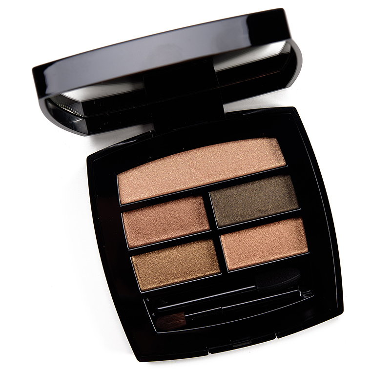 Chanel Intense Healthy Glow Eyeshadow Palette Review & Swatches