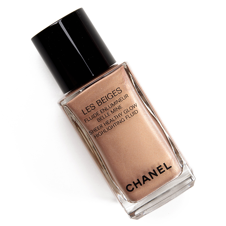 Chanel Sunkissed Sheer Healthy Glow Highlighting Fluid Review & Swatches