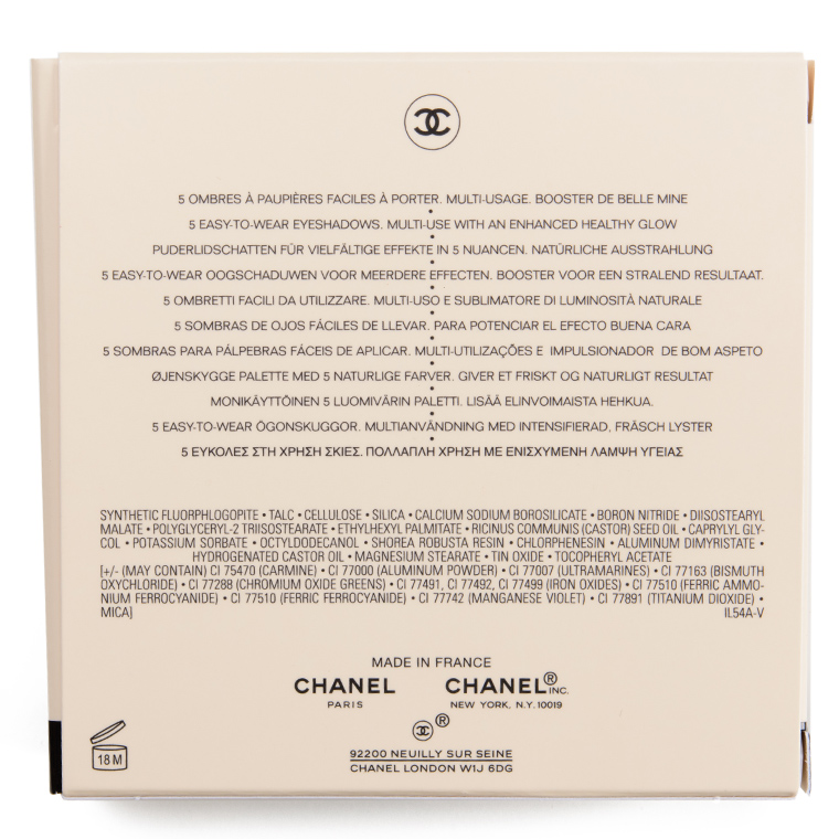 Chanel Tender Healthy Glow Eyeshadow Palette Review & Swatches