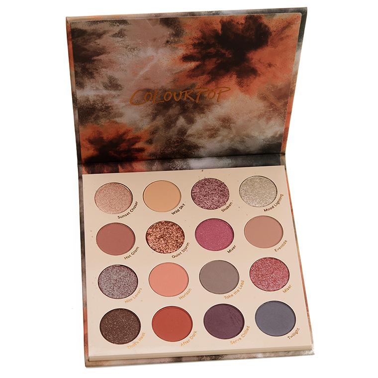 ColourPop Lust for Dusk 16-Pan Eyeshadow Palette