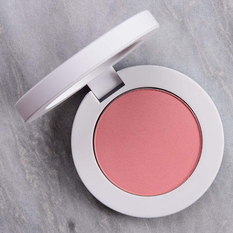 Makeup by Mario Mellow Mauve Soft Pop Powder Blush Review & Swatches