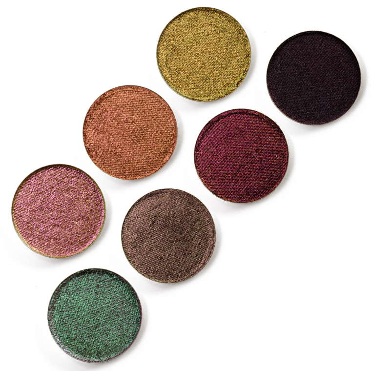Terra Moons Summer 2021 Extreme Multichrome Shadow Swatches