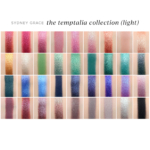 Sydney Grace x Temptalia: Light vs. Deep Versions + Visualizing & Comparing All the Shades