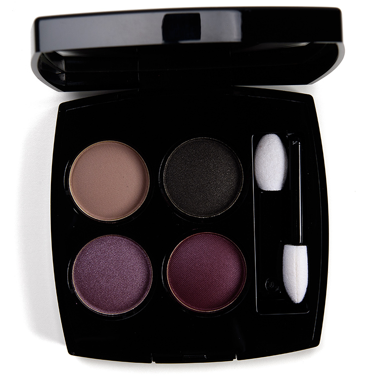Chanel Douceur et Serenite (378) Eyeshadow Quad Review & Swatches